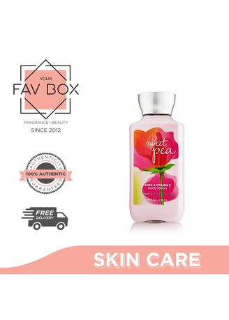 . YOUR FAV BOX  Bath and Body Works Sweet Pea Body Lotion 236ml -