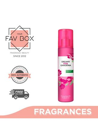No Color color Fragrances . YOUR FAV BOX United Colors Of Benetton Dreamy Pink Gardenia Perfumed Body Mist 236ml -