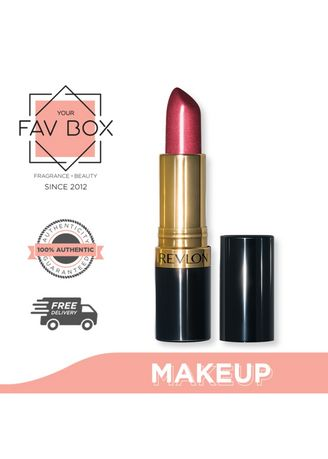 No Color color Fragrances . YOUR FAV BOX Revlon Super Lustrous Lipstick #520 Wine With Everything -