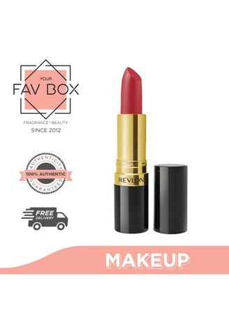 No Color color Fragrances . YOUR FAV BOX Revlon Super Lustrous Lipstick Matte #006 Really Red -