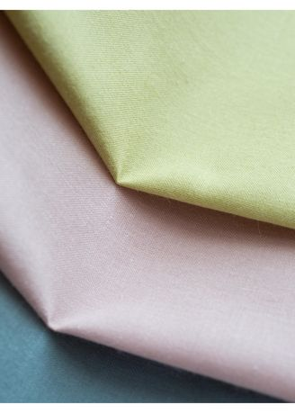 Green color Cotton . FOOD TEXTILE 20s SHEETING -