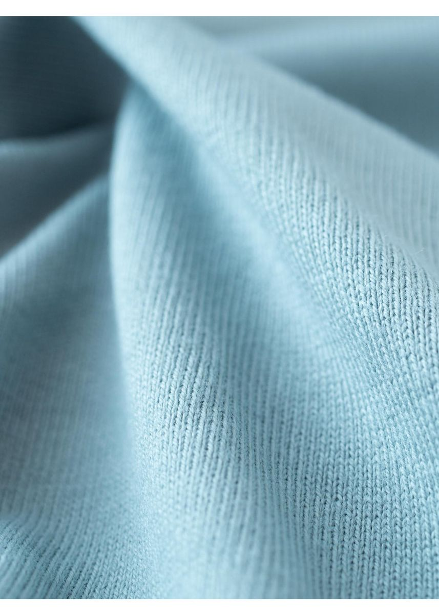 Blue color Jersey . FOOD TEXTILE 30/2 JERSEY -