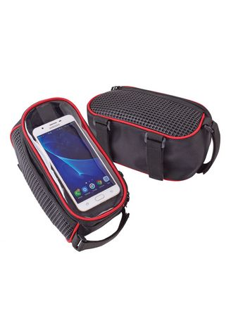 No Color color Accessories . Wright Bike Touchscreen Top Tube Saddle Bag -