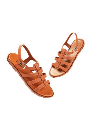 Brown color Sandals and Slippers . Palestine Women's Sandals -
