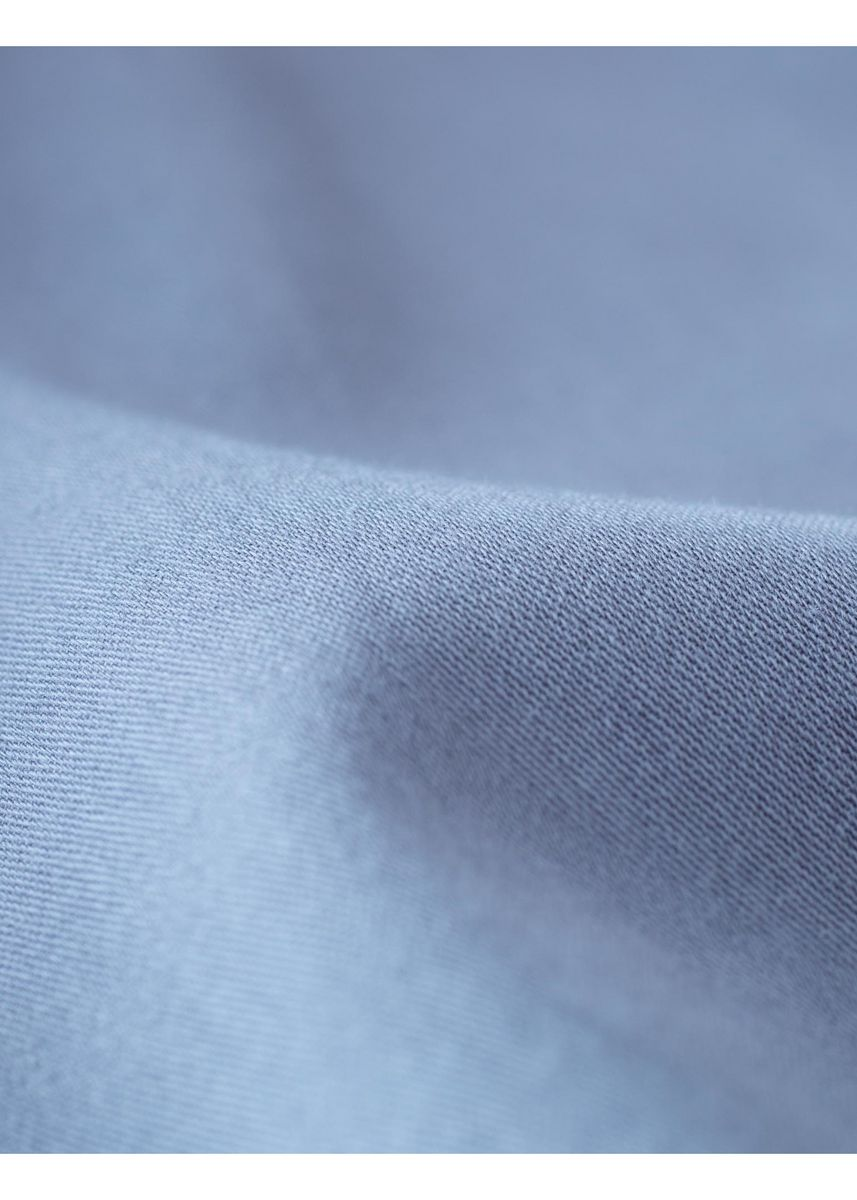 Blue color Satin . FOOD TEXTILE 60/1 SATIN -