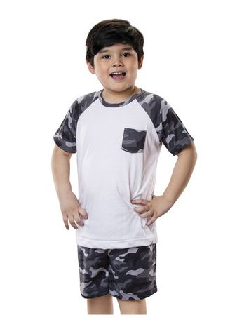 Black & White color Tops . Worley Boy's Top -