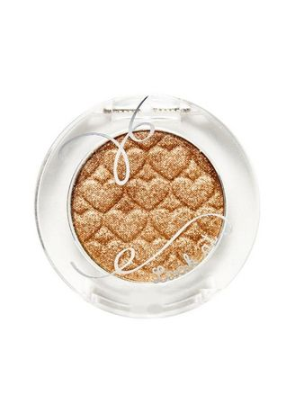 Gold color Eyes . ETUDE HOUSE Look At My Eyes Jewel Eye Shadow - BE103 Bling Gold Watch -