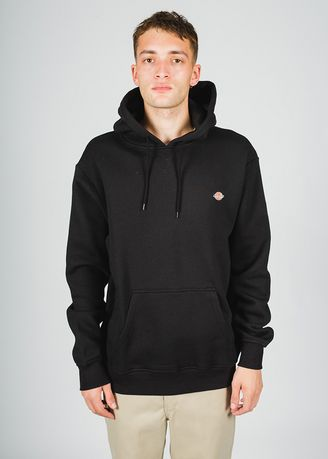 Hitam color Sweater . DICKIES-H.S ROCKWOOD POP OVER HOODY-K3200502 -