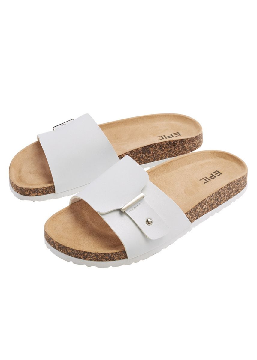 White color Sandals and Slippers . Tonelli Women's Sandals -