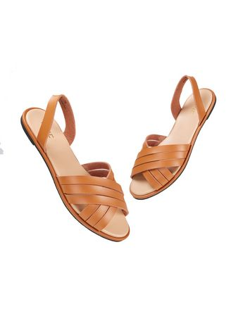 Tan color Sandals and Slippers . Stella Women's Sandals -