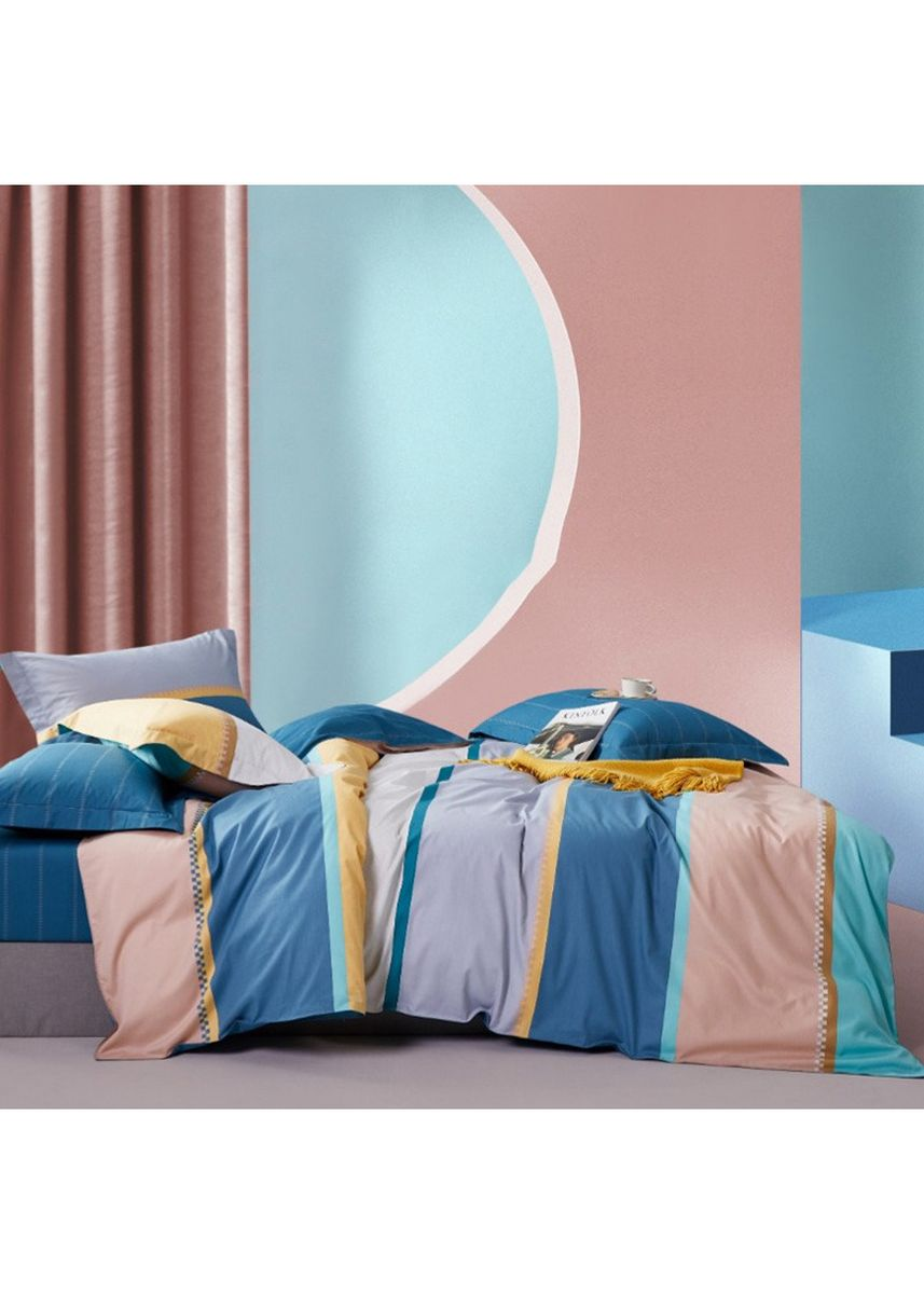Multi color Bedroom . Sleep Buddy Set Sprei Jerry Time Cotton Sateen Single Size -
