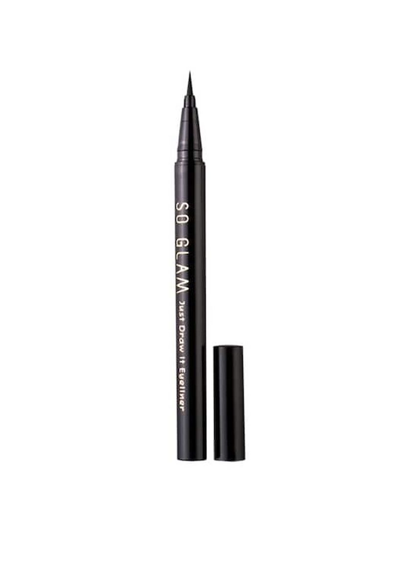 No Color color Eyes . So Glam Just Draw It Eyeliner 0.55 ml. -