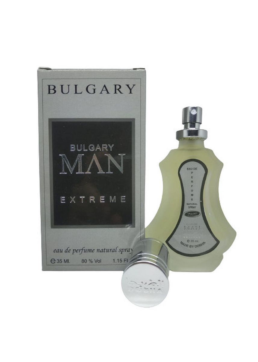 Tidak Berwarna color Parfum . Parfum BULGARY MAN EXTREME 35ml Original Dobha EDP Spray -