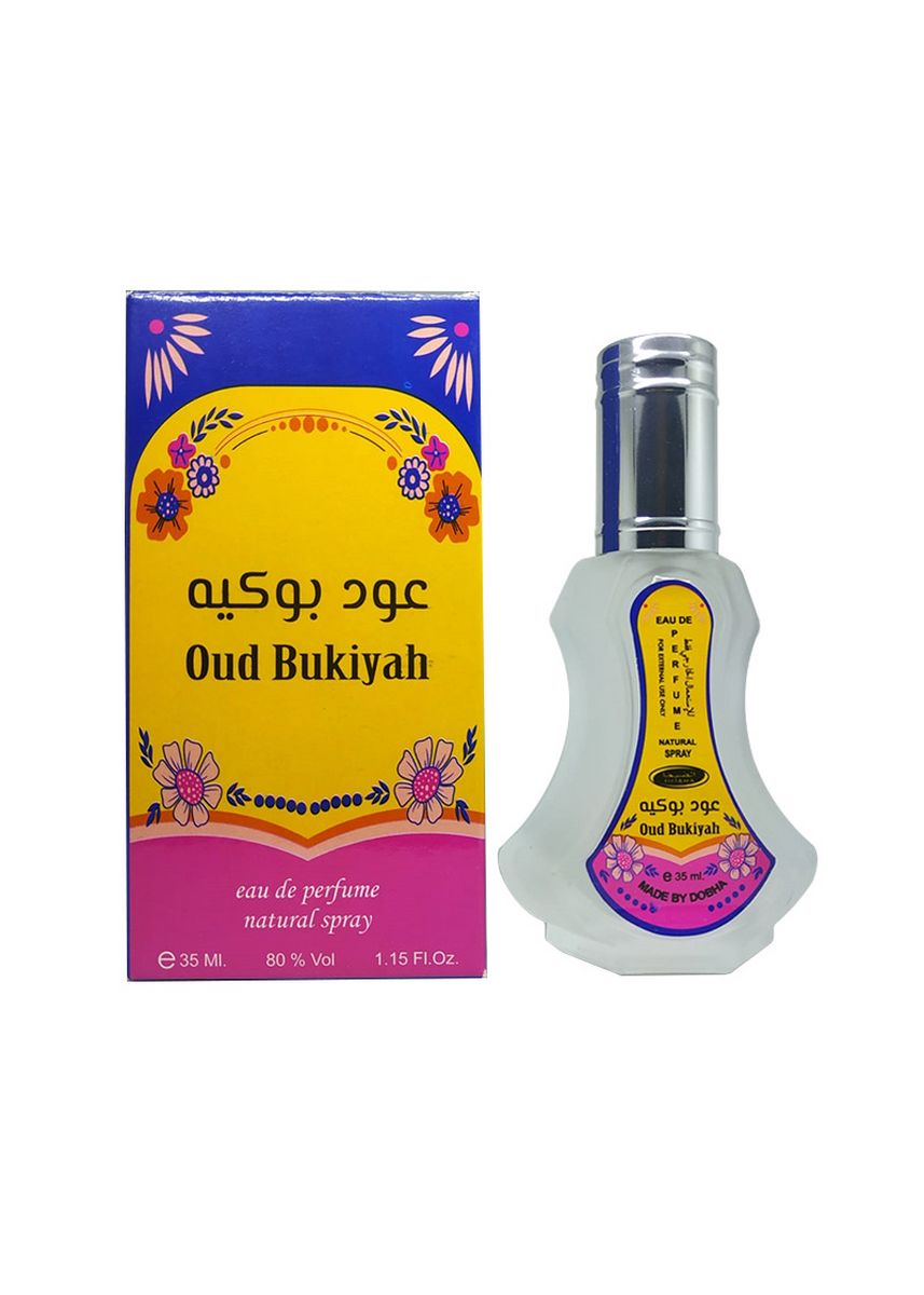 OUD BUKIYAH color Parfum . Parfum OUD BUKIYAH 35ml Dobha Original EDP Spray -