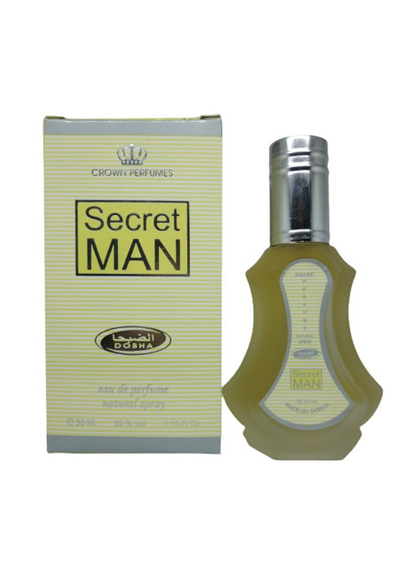 SECRET MAN color Fragrance . Parfum SECRET MAN 35ml Dobha Original EDP Spray BPOM -