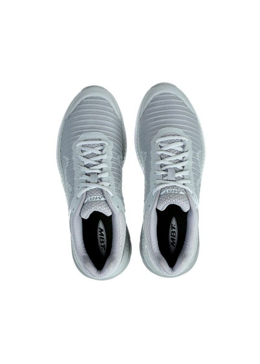 Light Grey color Sports Shoes . MBT GTR Men's Lace Up Running Shoe In Light Grey -