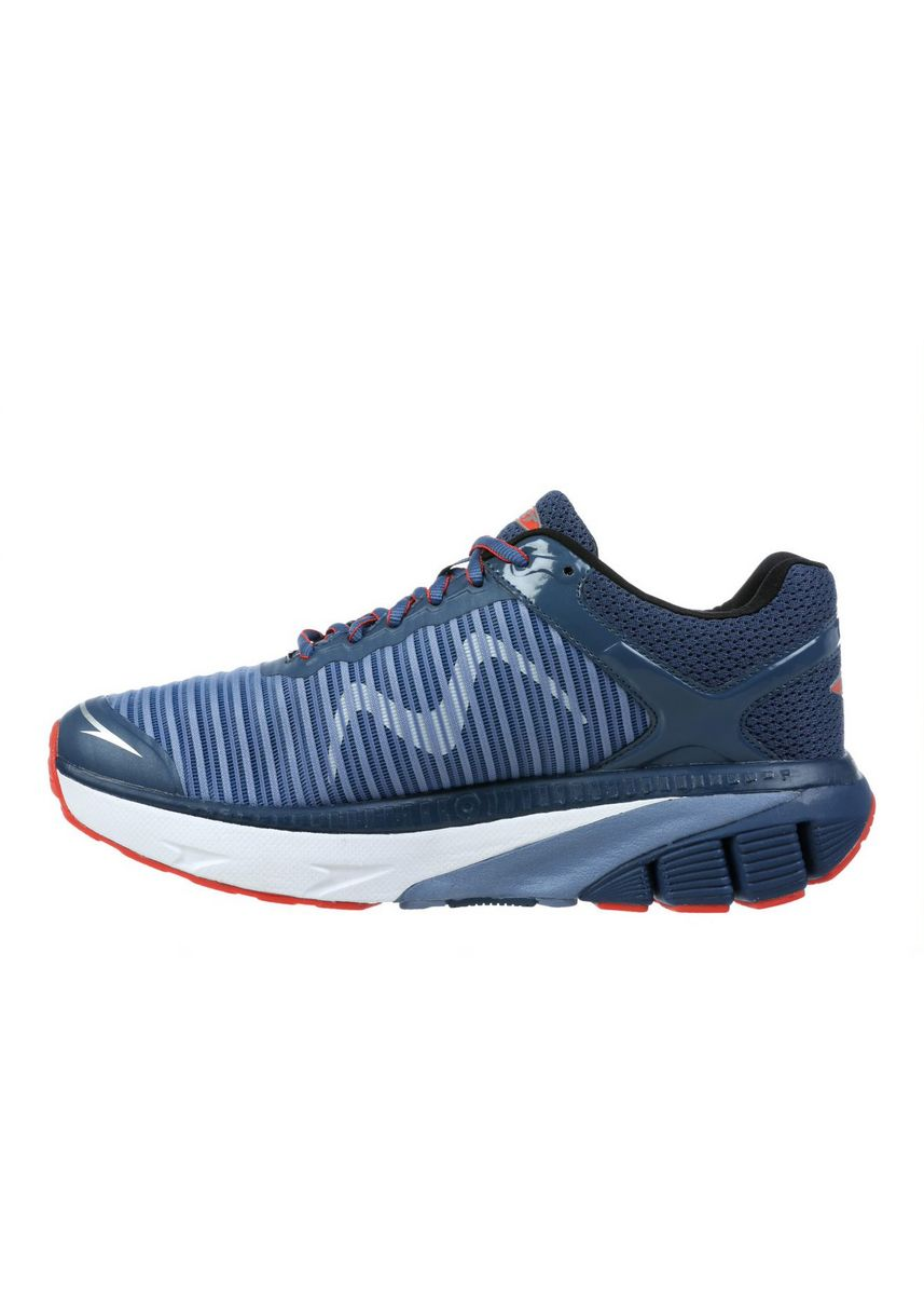 Navy color Sports Shoes . MBT GTR Men's Lace Up Running Shoe In Navy -