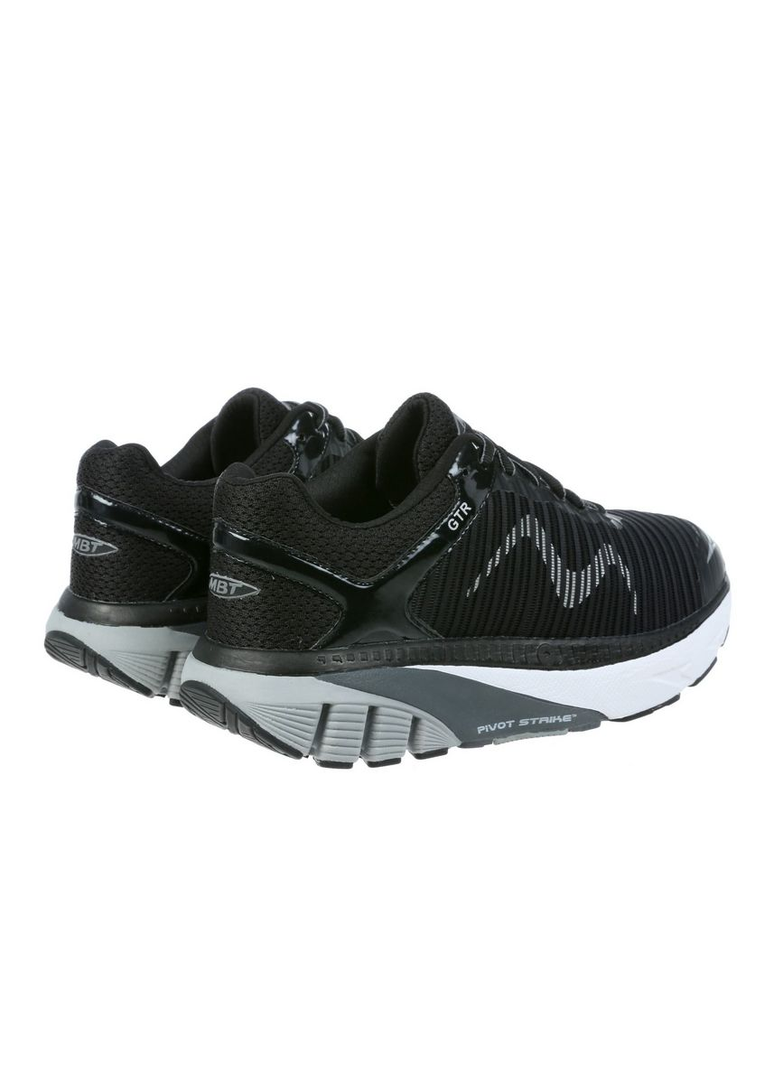 Black color Sports Shoes . MBT GTR Women's Lace Up Running Shoe in Black -