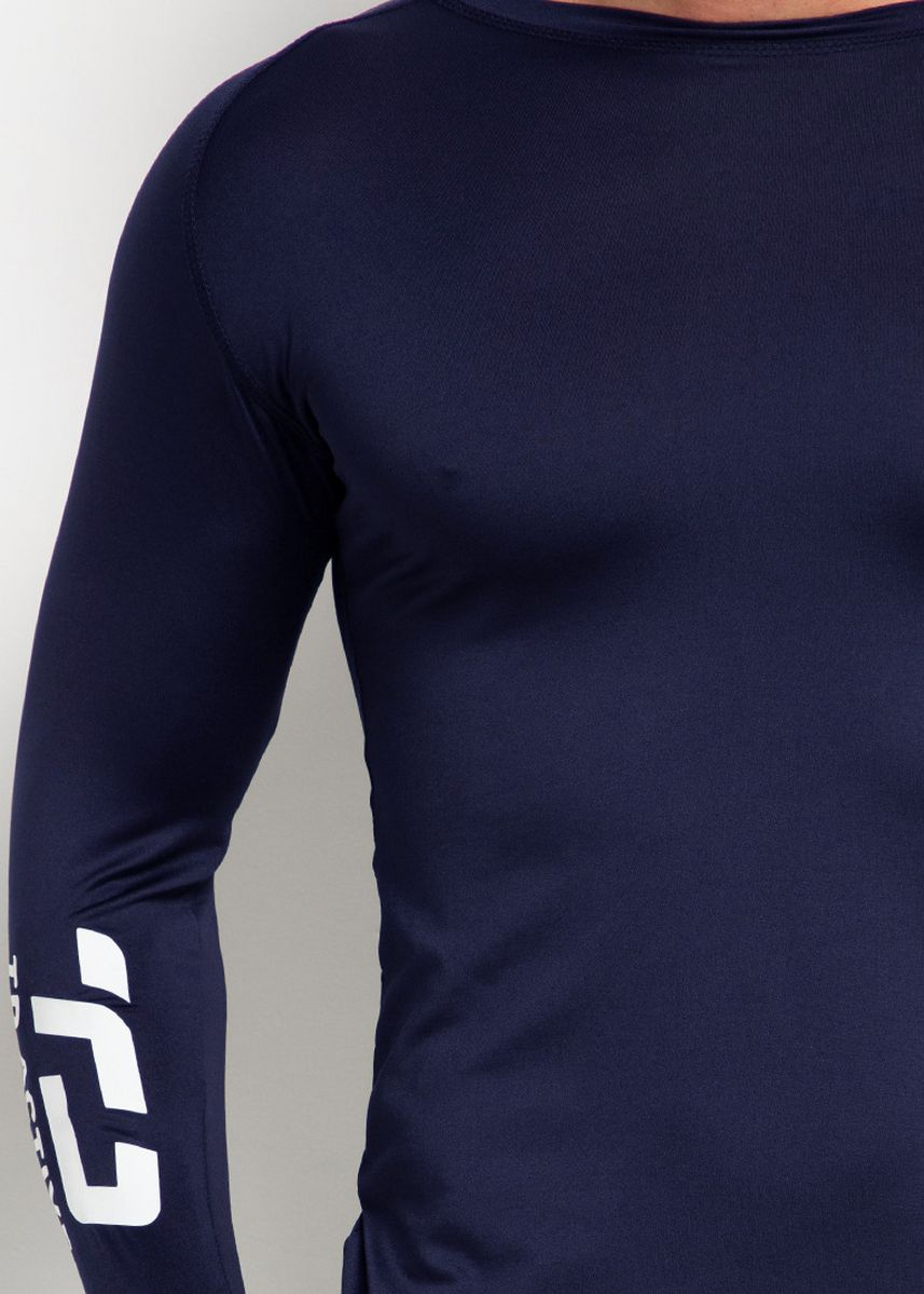 Navy color Sports Wear . Td Active MS141 Baselayer Inner Sport Thumbhole navy -