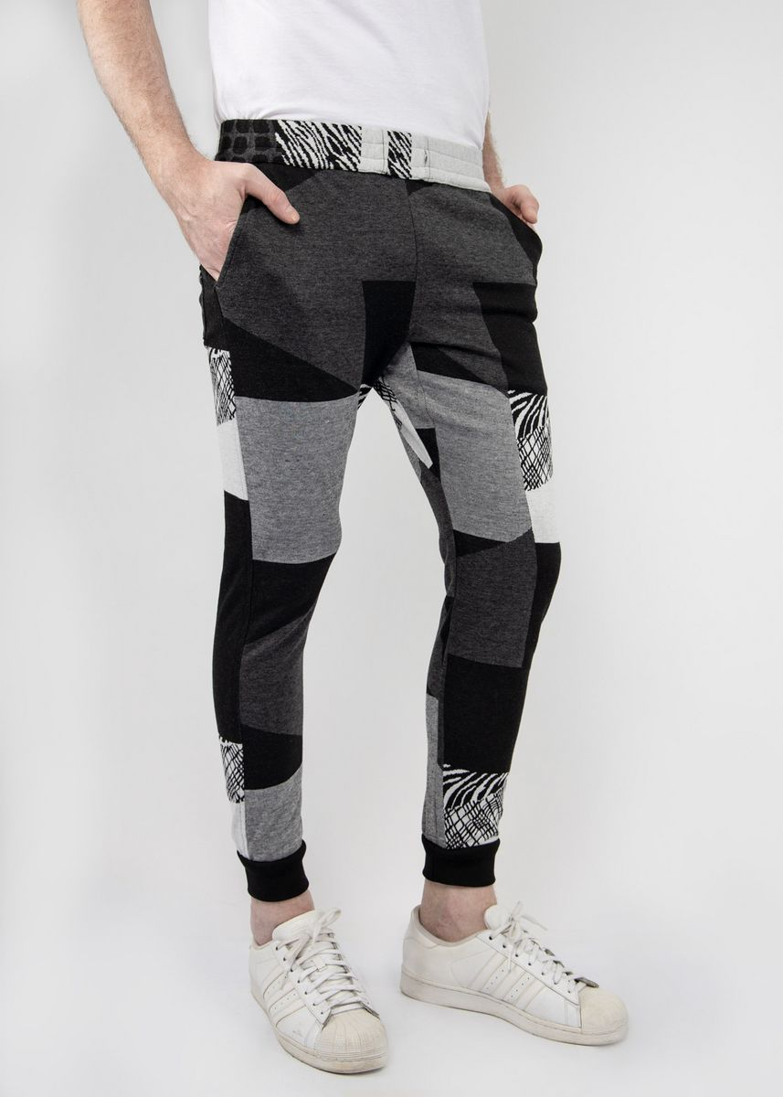 Graphic color Casual Trousers and Chinos . TMAC™ Graphic Sweatpants -