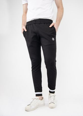 Black color Casual Trousers and Chinos . TMAC™ Black Sweatpants -