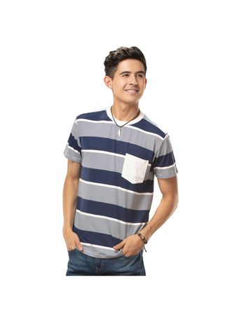 Teal Blue color T-Shirts and Polos . Tirzo Men's T-Shirt -