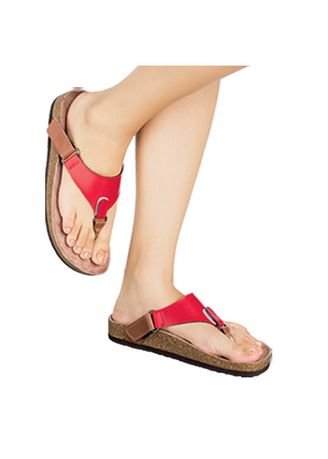 Red color Sandals and Slippers . Querizza Women's Sandals -