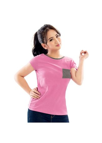 Pink color Tees & Shirts . Susie Pink Women's Shirt -