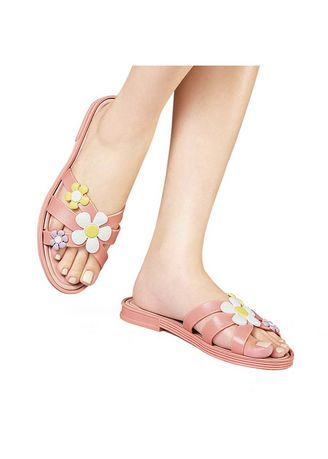 Pink color Sandals and Slippers . Reese Women's Sandals -
