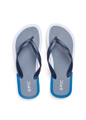 Navy color Sandals and Slippers . Russel Men's Slippers -