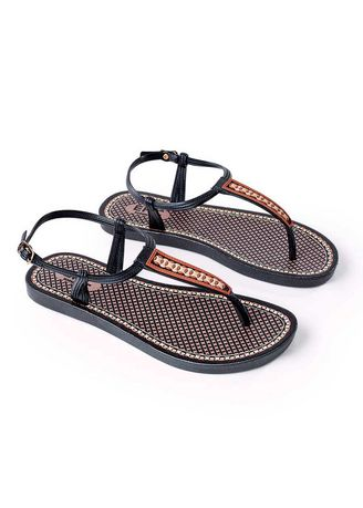 Black color Sandals and Slippers . Normina Women's Sandals -