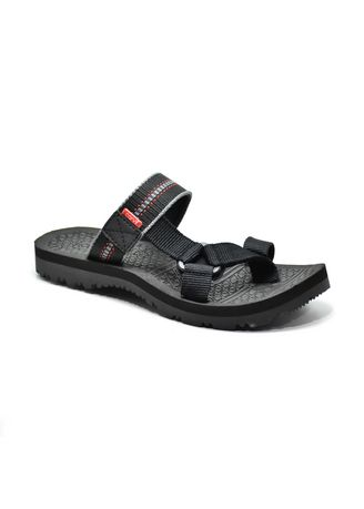 Sandals and Slippers . Carvil Sandal Pria Spextra P01 M Black -