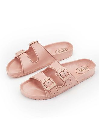 Beige color Sandals and Slippers . Sheena Women's Slippers -