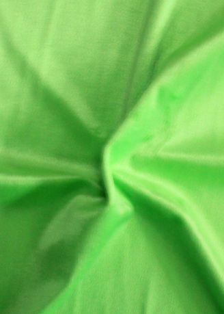 Green color Polyester . Solid Dyed Poly Velboa -