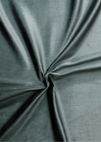 Black color Polyester . Solid Dyed Poly Velboa -