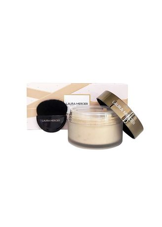 No Color color Face . Laura Mercier Translucent Loose Setting Powder Glow With Brush 29g. -