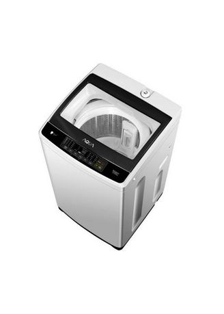Hitam color Mesin Cuci . AQUA - FULL AUTO WASHING MACHINE AQW98DD BK -