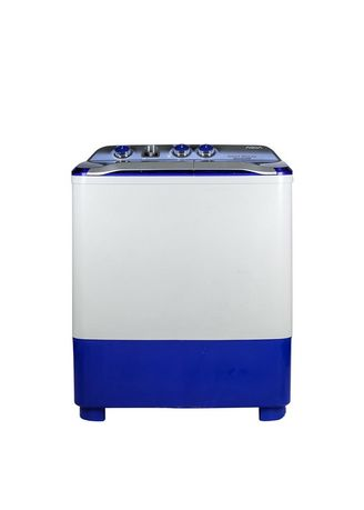 Biru color Mesin Cuci . AQUA-SEMI AUTO WASHING MACHINE QW880XT(B) -
