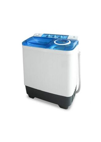 Blue color Washing Machines . DENPOO - SEMI AUTO WASHING MACHINE DW828 4P -