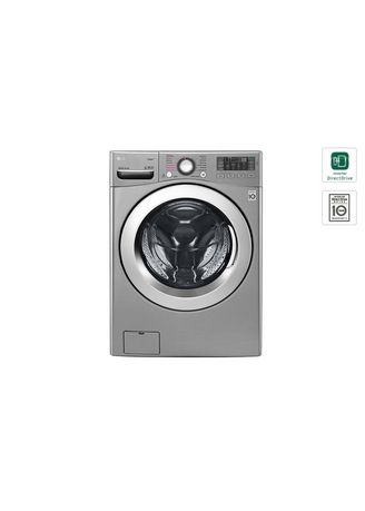 Abu-Abu color Mesin Cuci . LG - FRONT LOAD WASHING MACHINE FC1285S5V -