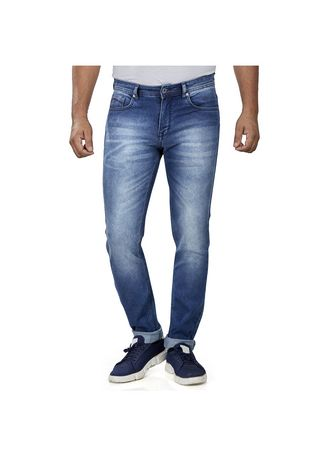 Blue color Jeans . ROXTON - MID-Rise Tapered Jeans 6 -