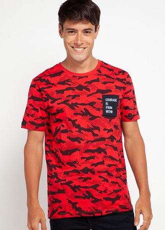 Red color T-Shirts and Polos . X8 Reese T-Shirt -