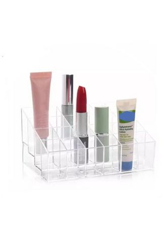 No Color color Travel Wallets & Organizers . Miami Philippines Clear Acrylic Makeup Display 24 Lipstick Case Cosmetic Organizer 1Pc 14.5 B 7 Cm (AS52) -