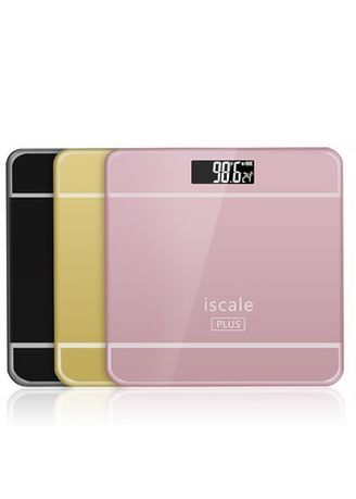 Gold color Bathroom . High-Precision Personal Weighing Scale Body Scale AS595 -
