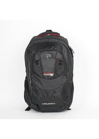 Hitam color Ransel . Tas Ransel Backpack Palazzo 300782 -