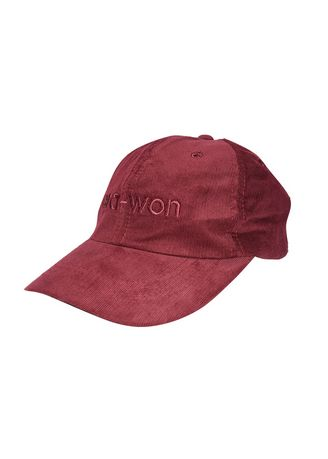 Maroon color Hats and Caps . era-won หมวก หมวกลูกฟูก หมวกแก๊ป Corduroy Cap -