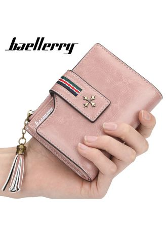 Wallets . Baellerry Classy High Quality Leather Fashion Wallet With Tussel Chain For Women -