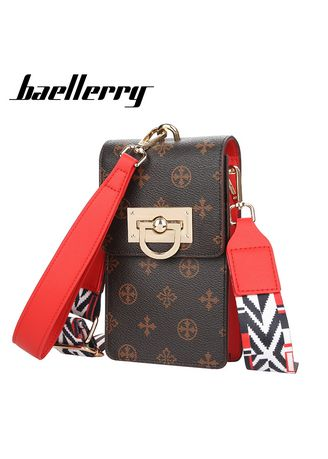 Sling Bags . Baellerry 2021 New Classic Women Top Quality Mini Messenger Bag Phone Pocket Fashion Small Bags For Girl -