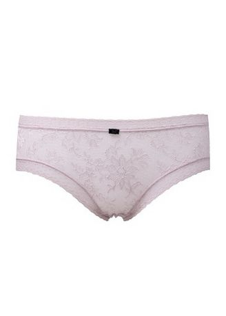 Pink color Panties . Adam & Eve See Through Mesh Lace Floral Panty -