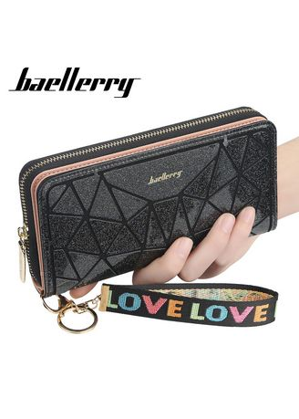 Wallets and Clutches . Baellerry New Many Departments Women Fashionable Glitter Style Wallets Ladies Large Capacity Card Holder Purse Female Long Clutch -